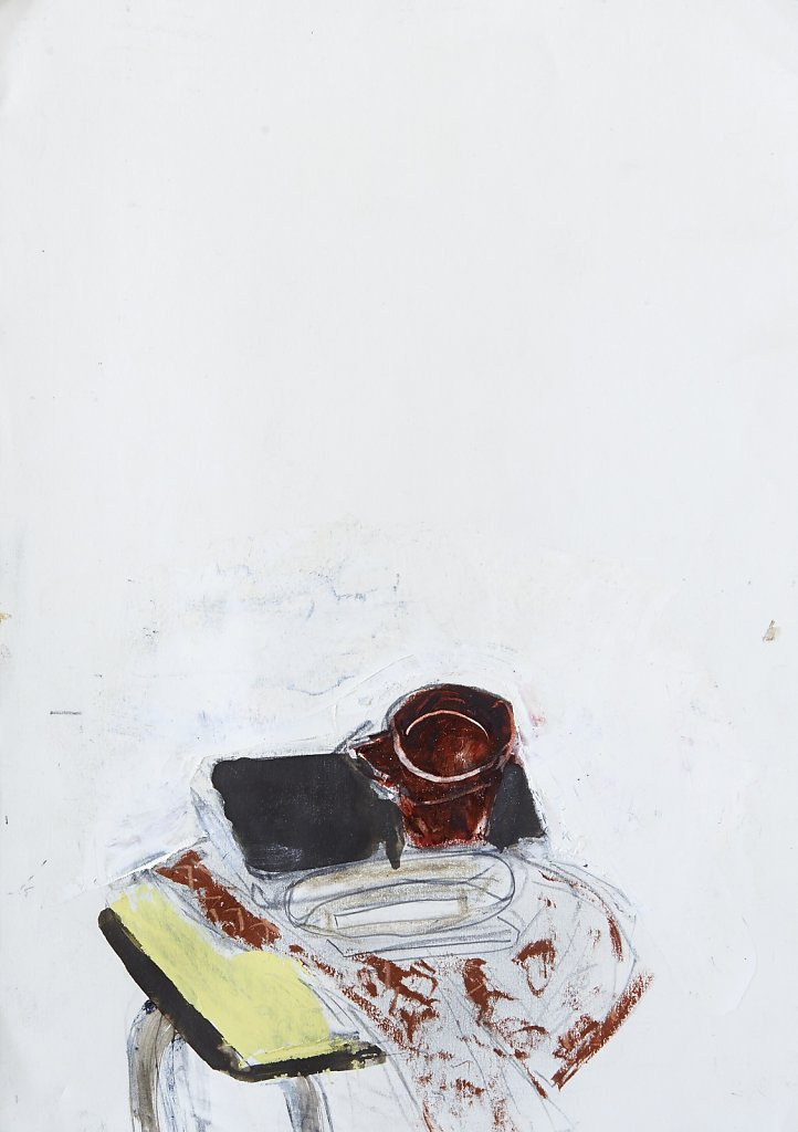 Huile et crayon/papier - 2014 - 29,7x21cm