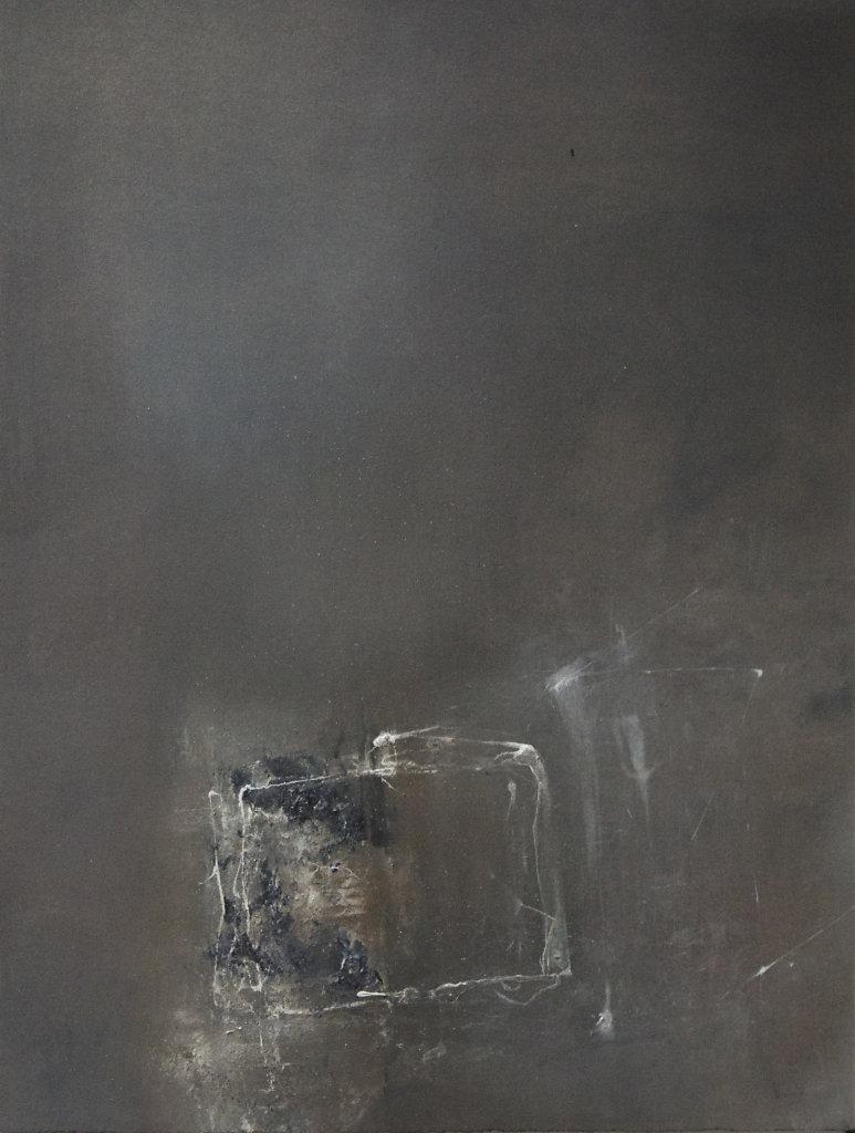Paintbox, encres et huile sur papier,33x25cm ,2019